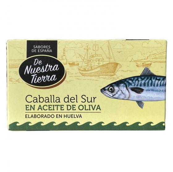 Caballa del sur en aceite de oliva De Nuestra Tierra 78 g.