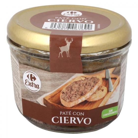 Paté de ciervo Carrefour 180 g.