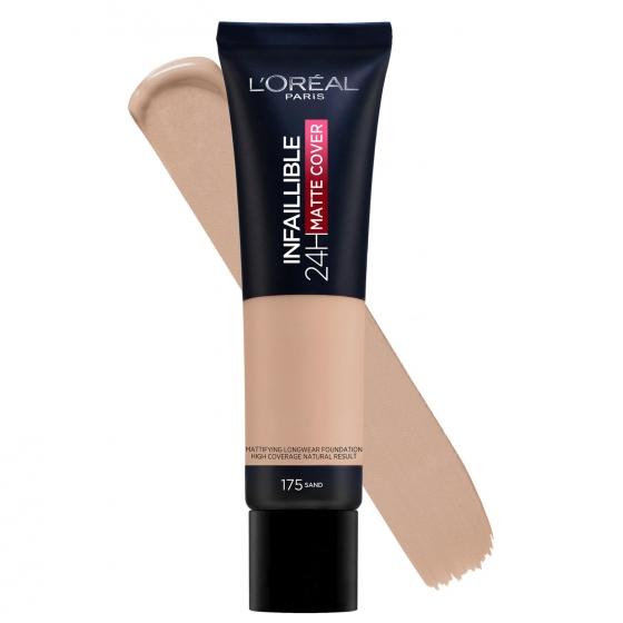Base de maquillaje infalible matte cover 175 sand L'Oréal Perfection 1 ud. - 1