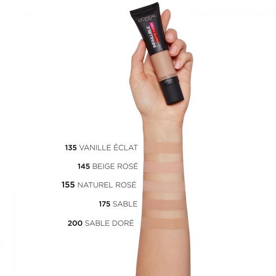 Base de maquillaje infalible matte cover 175 sand L'Oréal Perfection 1 ud. - 3