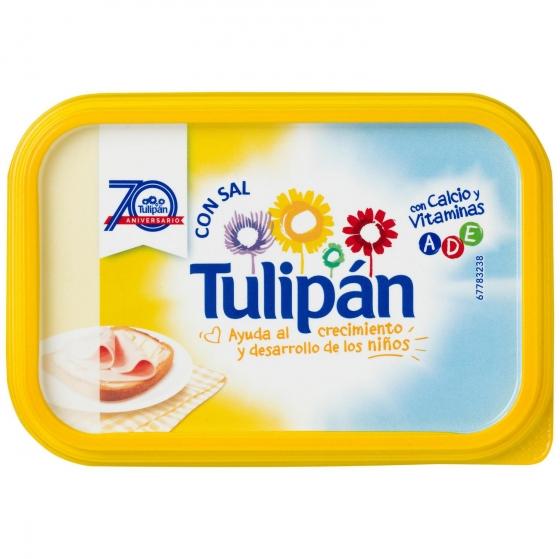Margarina con sal con calcio y vitaminas Tulipán 260 g. - 1