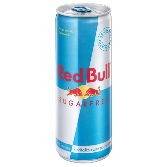 Bebida energética Red Bull sin azúcar 25 cl.