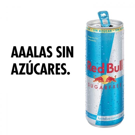Bebida energética Red Bull sin azúcar 25 cl. - 1
