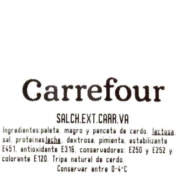 Salchichón extra cular Carrefour al corte 300 g aprox - 3