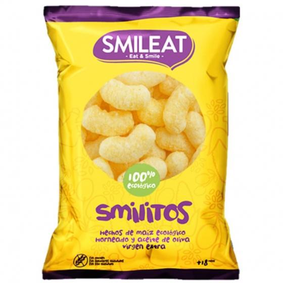 Aperitivo de maiz desde 18 meses ecológicos Smileat Smilitos sin gluten 38 g. - 3