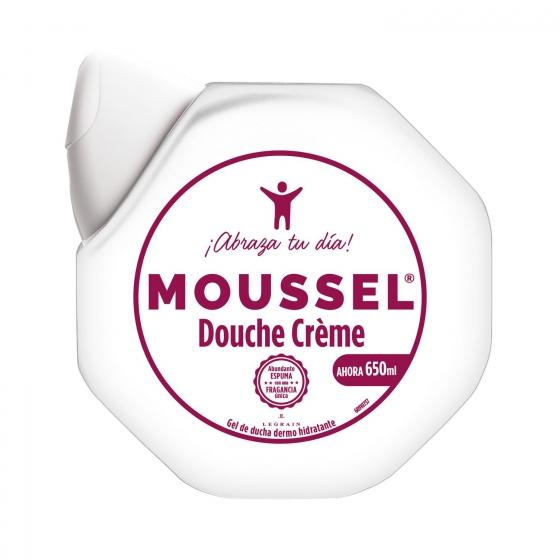 Gel de ducha Dermo Hidratante Moussel 600 ml.