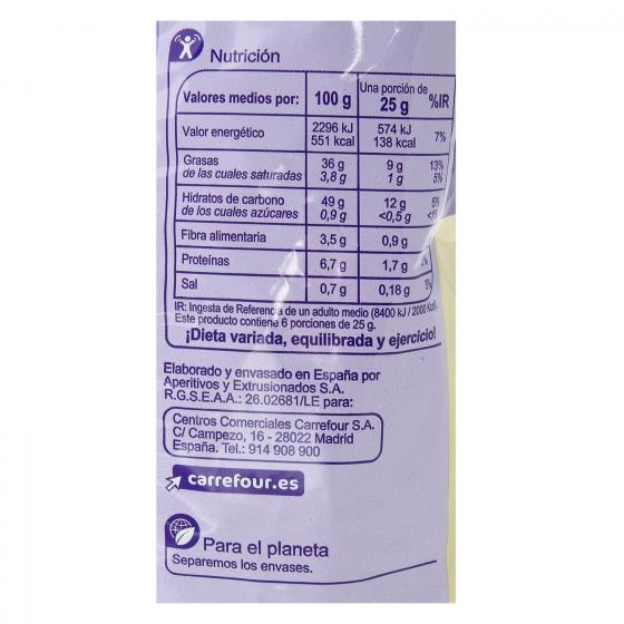 Patatas fritas sabor ajo y perejil Carrefour 150 g. - 3