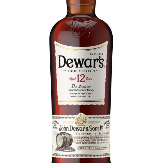 Whisky White Label escocés 12 años 70 cl. - 1