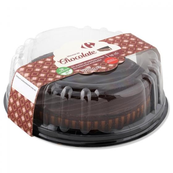 Mousse de chocolate Carrefour Pieza de 10 raciones - 1