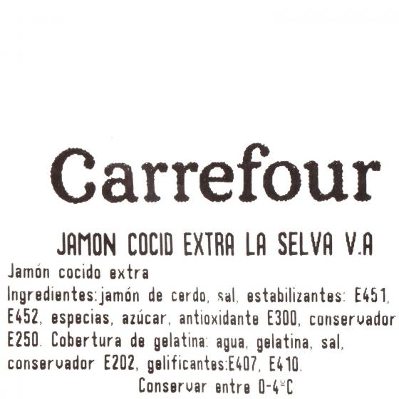 Jamon cocido extra La Selva al corte 150 g aprox - 3