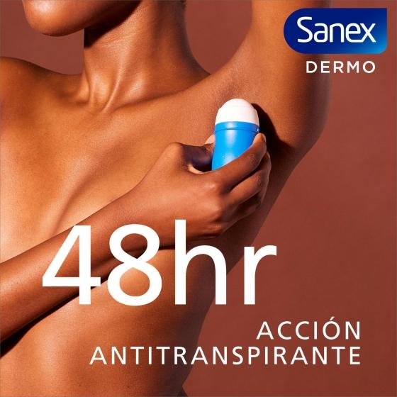 Desodorante roll-on Dermo Extra Control Sanex pack de 2 unidades de 45 ml. - 1