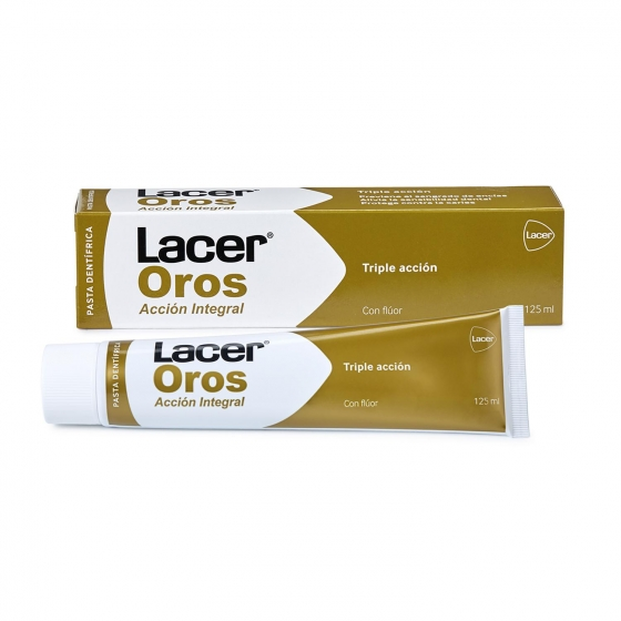 Dentífrico acción integral Lacer Oros 125 ml.