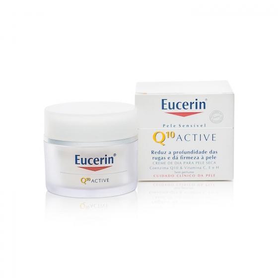 Crema Q10 Active antiarrugas piel seca Eucerin 50 ml.