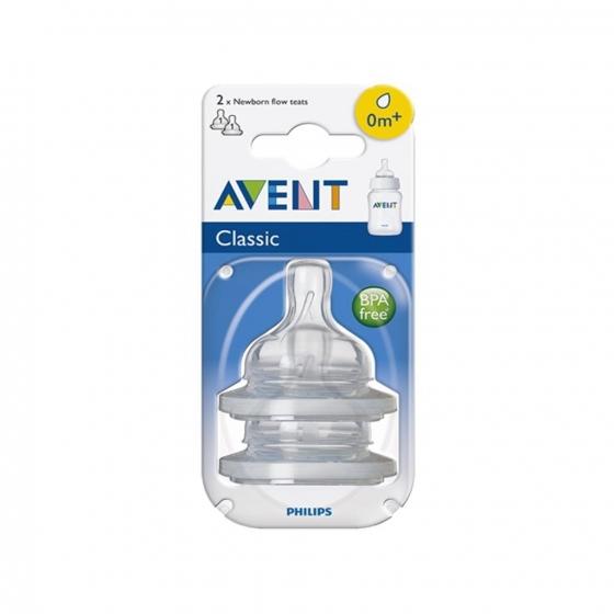 Tetina flujo recién nacido Avent 2 ud. - 3