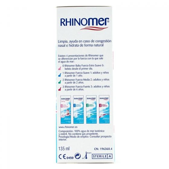 Suero Fisiológico Rhinomer 135 ml - 4