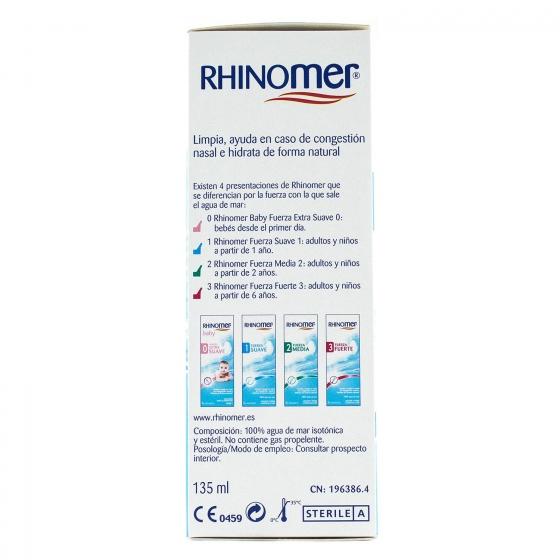 Spray Nasal Rhinomer Baby Fuerza 135 ml - 4