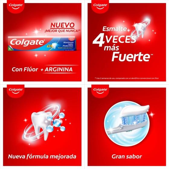 Dentífrico Protección Caries Tubo Duplo Colgate pack de 2 unidades de 75 ml. - 5