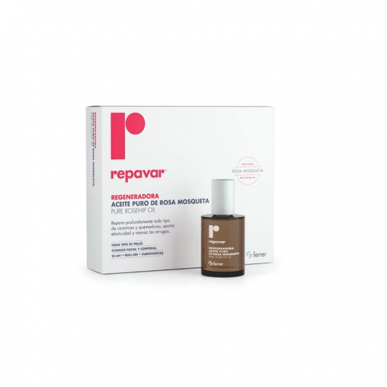Aceite puro de rosa mosqueta Repavar Ferrer 15 ml. - 1