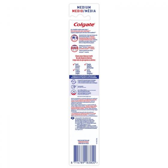 Cepillo dental 360º Medio Colgate 1 ud. - 4