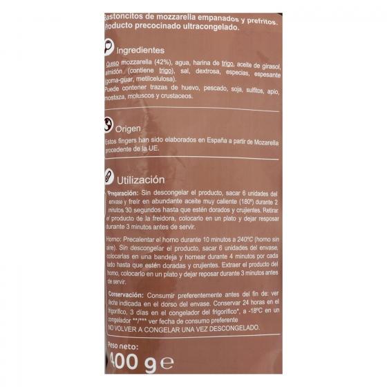 Finger de mozzarella Carrefour 400 g. - 3
