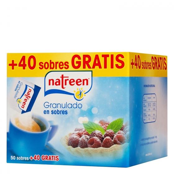 Edulcorante Classic  granulado en sobres Natreen 50 g.