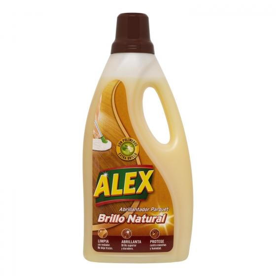 Abrillantador parquet, tarima, laminados y gres Alex 1,5 l.