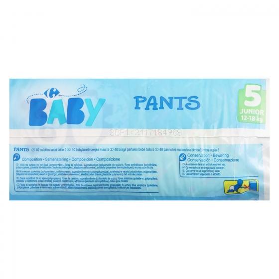 Pants Carrefour Baby T5 Junior (12-18 kg.) 40 ud. - 4