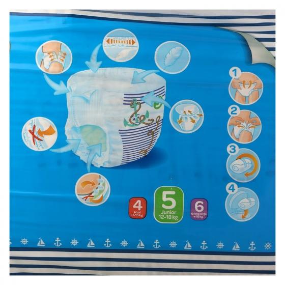 Pants Carrefour Baby T5 Junior (12-18 kg.) 40 ud. - 5