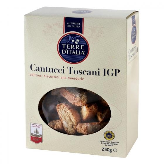 Cantucci (galletas de almendra) Terre d'Italia 250 g.