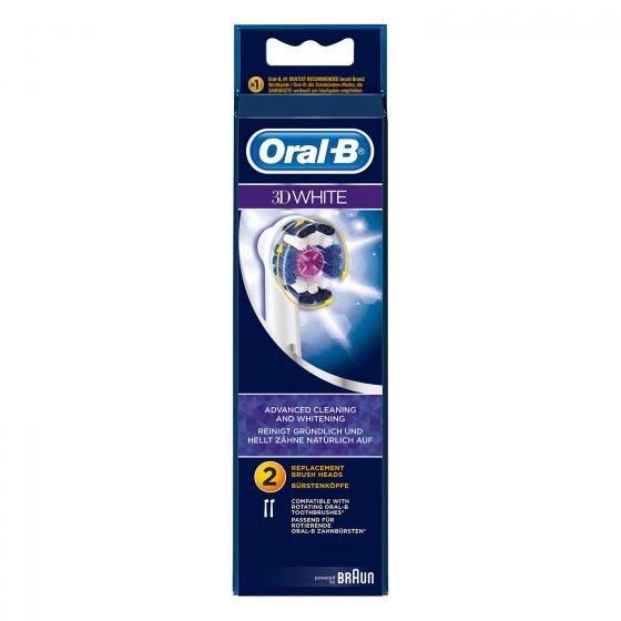 Cepillo dental eléctrico Pro Bright recambio Oral-B 2 ud.