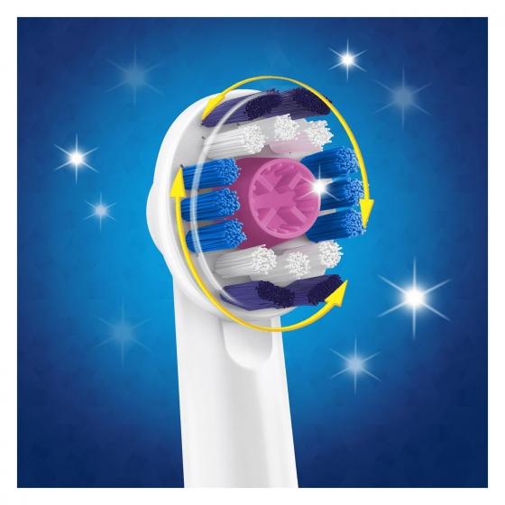 Cepillo dental eléctrico Pro Bright recambio Oral-B 2 ud. - 3