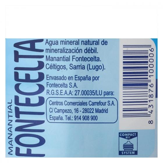 Agua mineral Carrefour natural 2 l. - 3