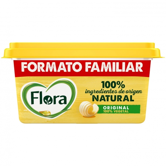Margarina vegetal con Omega 3 y 6 Flora 600 g. - 1