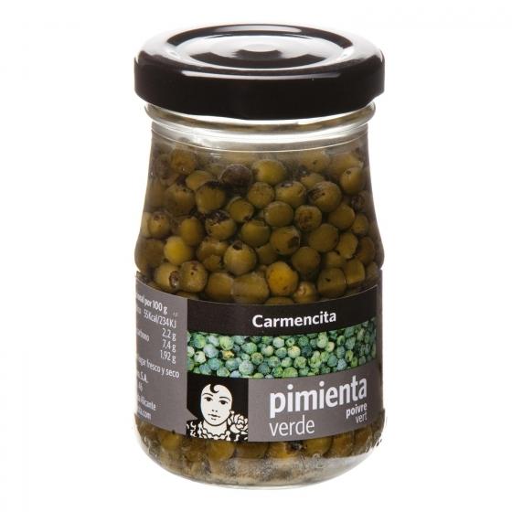 Pimienta verde en grano Carmencita 60 g.