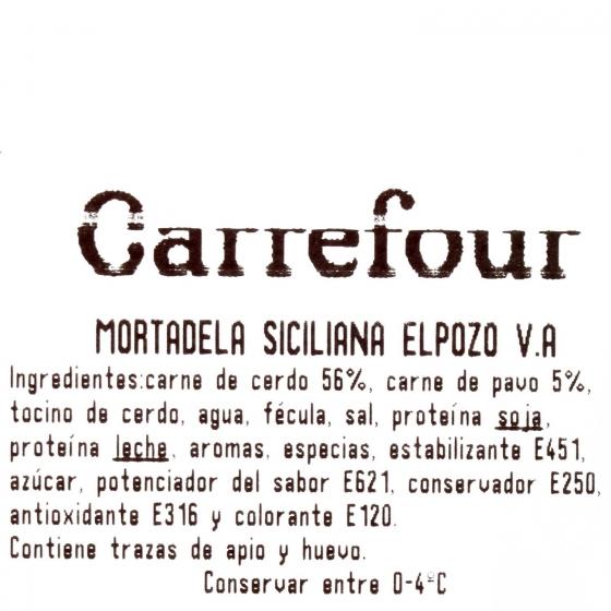 Mortadela siciliana ElPozo al corte 150 g aprox - 3