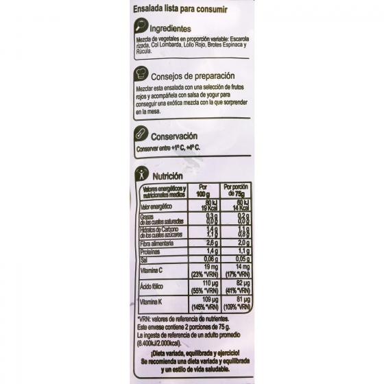 Ensalada vital Carrefour 150 g - 3