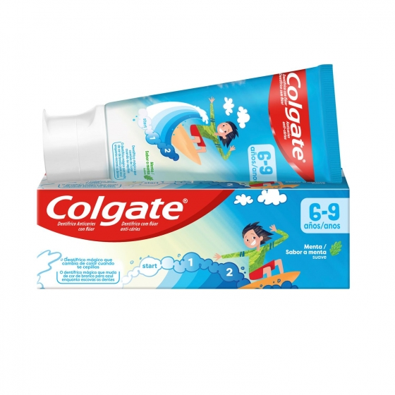 Dentífrico Smiles +6 años Tubo Colgate 50 ml.