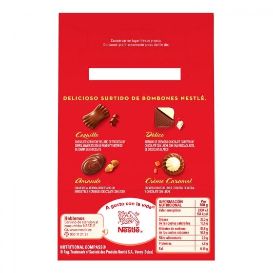Bombones surtidos de chocolate Nestlé Caja Roja lata 10 ud. - 1