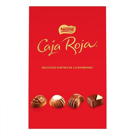 Bombones surtidos de chocolate Nestlé Caja Roja lata 10 ud. - 3