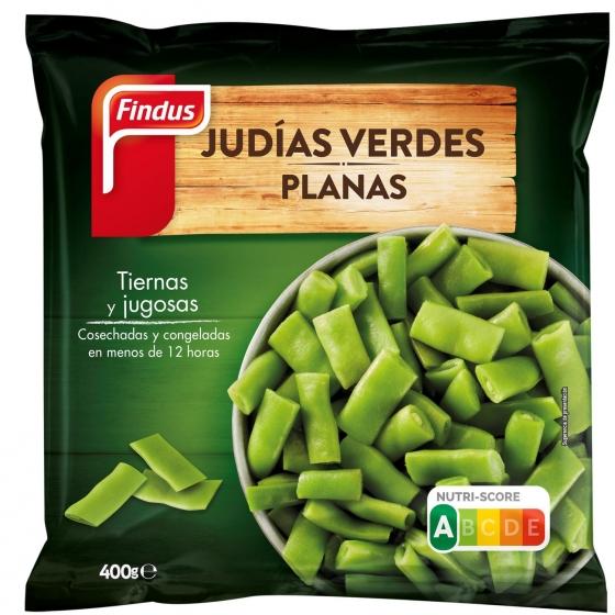 Judía verde plana Findus 400 g.