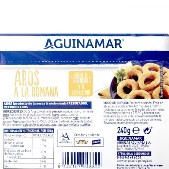Aros a la romana Aguinamar 270 gr. - 3