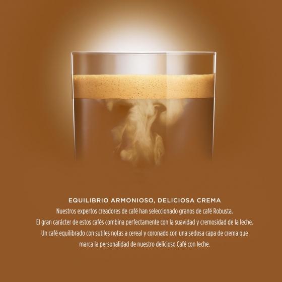 Café con leche en cápsulas Nescafé Dolce Gusto 16 unidades de 10 g. - 1