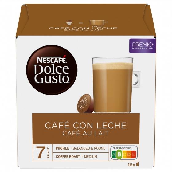 Café con leche en cápsulas Nescafé Dolce Gusto 16 unidades de 10 g. - 3