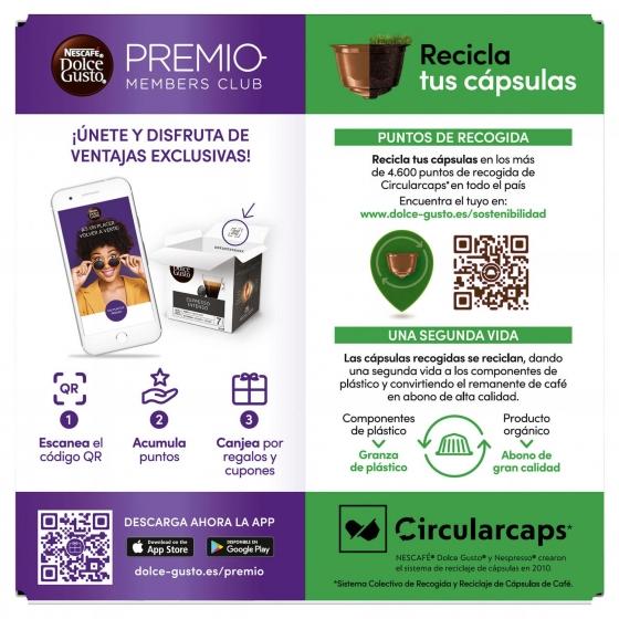 Café con leche en cápsulas Nescafé Dolce Gusto 16 unidades de 10 g. - 4