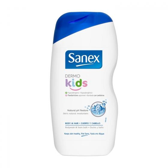 Gel de ducha dermo kids Sanex 500 ml.