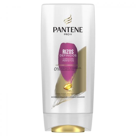 Acondicionador para cabello normal o grueso Rizos Perfectos Pantene 675 ml.