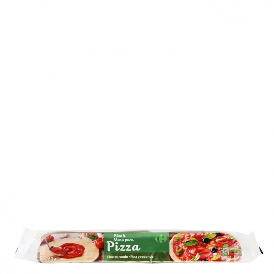 Masa Pizza Carrefour 260 g.