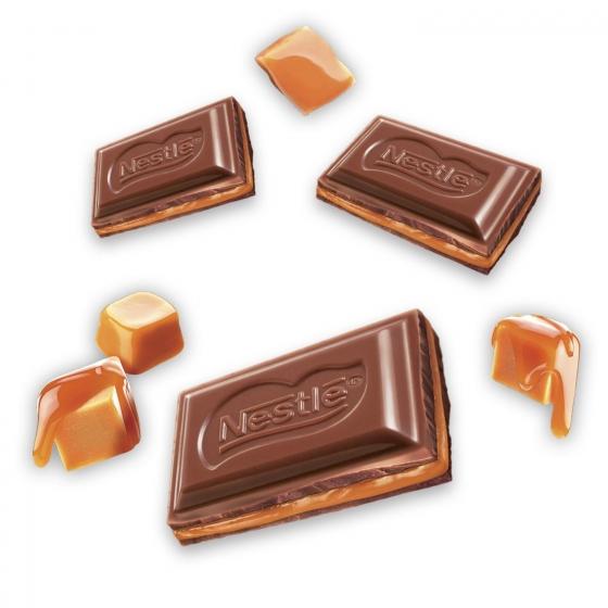 Chocolate con leche extrafino relleno de dulce de leche Nestlé 120 g. - 1