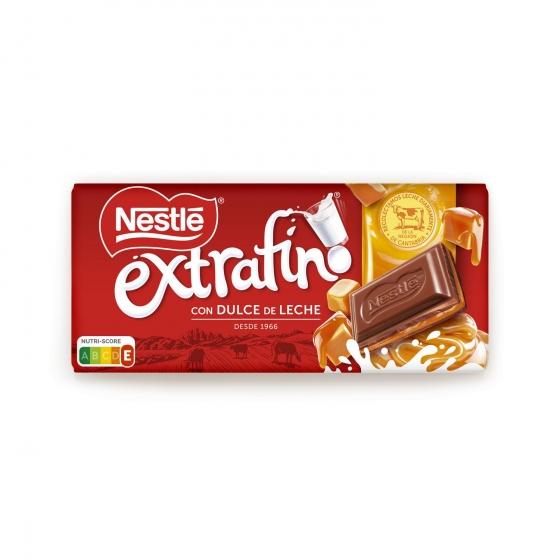Chocolate con leche extrafino relleno de dulce de leche Nestlé 120 g. - 3