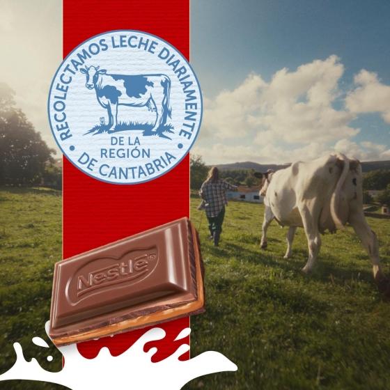 Chocolate con leche extrafino relleno de dulce de leche Nestlé 120 g. - 4